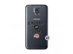 Coque Samsung Galaxy S5 Je M En Bas Les Steaks