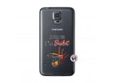 Coque Samsung Galaxy S5 Je Peux Pas J Ai Basket