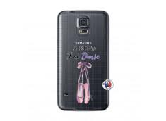 Coque Samsung Galaxy S5 Je peux pas j'ai danse