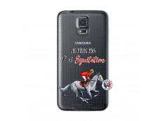 Coque Samsung Galaxy S5 Je Peux Pas J Ai Equitation