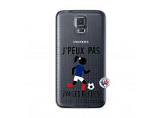 Coque Samsung Galaxy S5 Je Peux Pas J Ai Les Bleues Maillot