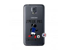Coque Samsung Galaxy S5 Je Peux Pas J Ai Les Bleues