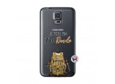 Coque Samsung Galaxy S5 Je Peux Pas J Ai Rando