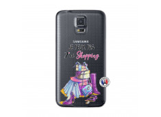 Coque Samsung Galaxy S5 Je Peux Pas J Ai Shopping