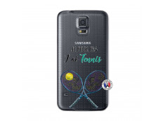 Coque Samsung Galaxy S5 Je Peux Pas J Ai Tennis