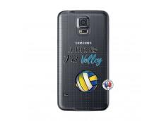 Coque Samsung Galaxy S5 Je Peux Pas J Ai Volley