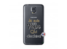 Coque Samsung Galaxy S5 Je Suis Un Papa Qui Dechire