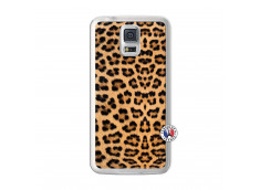 Coque Samsung Galaxy S5 Leopard Style Translu