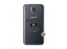 Coque Samsung Galaxy S5 Oh Putain C Est L Heure De L Apero