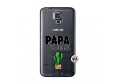 Coque Samsung Galaxy S5 Papa Tu Piques