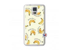 Coque Samsung Galaxy S5 Sorbet Banana Split Translu