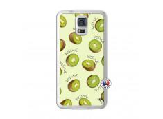 Coque Samsung Galaxy S5 Sorbet Kiwi Translu