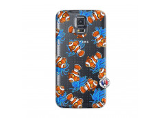 Coque Samsung Galaxy S5 Poisson Clown