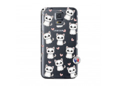 Coque Samsung Galaxy S5 Petits Chats