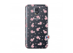 Coque Samsung Galaxy S5 Petits Moutons
