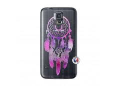 Coque Samsung Galaxy S5 Purple Dreamcatcher