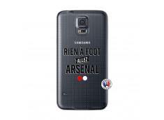 Coque Samsung Galaxy S5 Rien A Foot Allez Arsenal