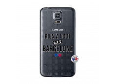 Coque Samsung Galaxy S5 Rien A Foot Allez Barcelone