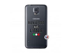 Coque Samsung Galaxy S5 Rien A Foot Allez L'Italie