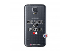 Coque Samsung Galaxy S5 Rien A Foot Allez Liverpool