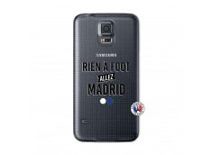 Coque Samsung Galaxy S5 Rien A Foot Allez Madrid