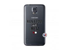 Coque Samsung Galaxy S5 Rien A Foot Allez Metz