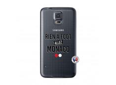 Coque Samsung Galaxy S5 Rien A Foot Allez Monaco