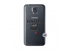 Coque Samsung Galaxy S5 Rien A Foot Allez Paris