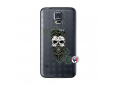 Coque Samsung Galaxy S5 Skull Hipster