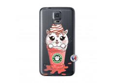 Coque Samsung Galaxy S5 Catpucino Ice Cream