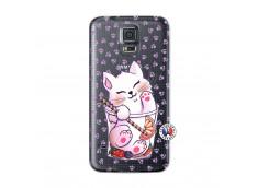 Coque Samsung Galaxy S5 Smoothie Cat