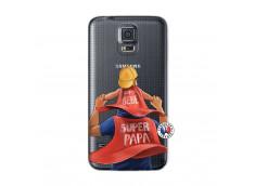 Coque Samsung Galaxy S5 Super Papa et Super Bébé
