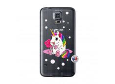 Coque Samsung Galaxy S5 Sweet Baby Licorne