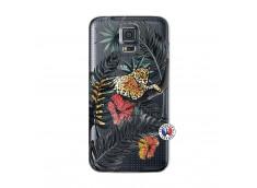 Coque Samsung Galaxy S5 Leopard Tree
