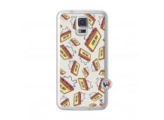 Coque Samsung Galaxy S5 Vintage Tape Translu