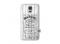 Coque Samsung Galaxy S5 White Old Jack Translu