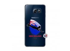 Coque Samsung Galaxy S6 Edge Plus Coupe du Monde Rugby- Nouvelle Zélande