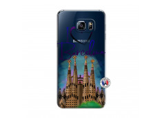 Coque Samsung Galaxy S6 Edge Plus I Love Barcelona