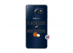 Coque Samsung Galaxy S6 Edge Plus Je m'en bats Les Noix De Coco