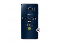 Coque Samsung Galaxy S6 Edge Plus Je M En Bas Les Olives