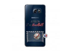 Coque Samsung Galaxy S6 Edge Plus Je peux pas j'ai Handball