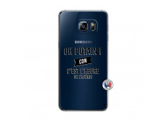 Coque Samsung Galaxy S6 Edge Plus Oh Putain C Est L Heure De L Apero