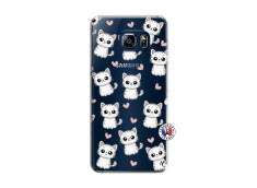 Coque Samsung Galaxy S6 Edge Plus Petits Chats