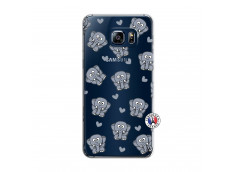 Coque Samsung Galaxy S6 Edge Plus Petits Elephants