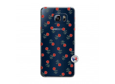 Coque Samsung Galaxy S6 Edge Plus Rose Pattern