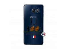 Coque Samsung Galaxy S6 Edge Plus 100 % Rugbyman Entre les Poteaux