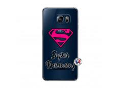 Coque Samsung Galaxy S6 Edge Plus Super Maman