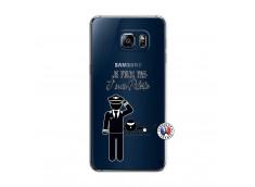 Coque Samsung Galaxy S6 Edge Je peux pas j'suis pilote
