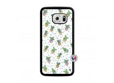 Coque Samsung Galaxy S6 Edge Le Monde Entier est un Cactus Translu