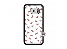 Coque Samsung Galaxy S6 Edge Cartoon Heart Translu